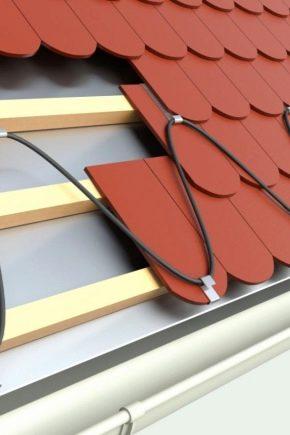 Обогрев кровли: как предотвратить обледенение крыши?