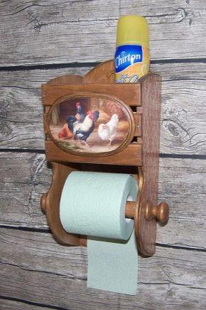 Оригинальные держатели для туалетной бумаги