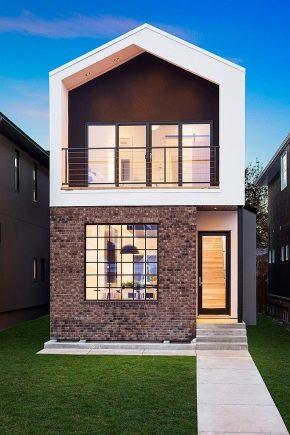 Отделка фасадов частных домов с утеплением