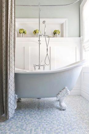 Отличительные черты и характеристики ванн из разных материалов
