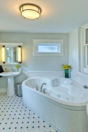 Как правильно оформить интерьер большой ванной