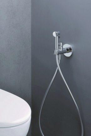 Гигиенический душ варианты установки
