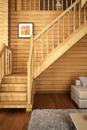 Лестница дачи своими руками дерева фото 788