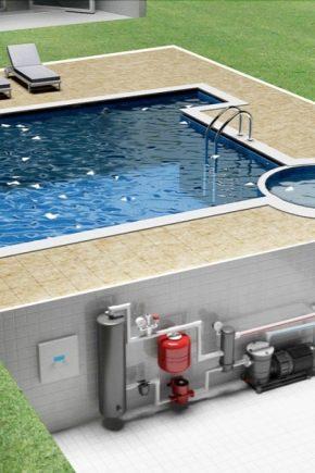 Как выбрать нагреватель для бассейна?