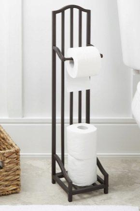 Как выбрать напольный держатель для туалетной бумаги?
