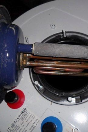 Правила подбора анодов для водонагревателей