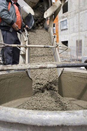 Бетонная смесь пропорции для столбов цемент для зубов купить в аптеке москва