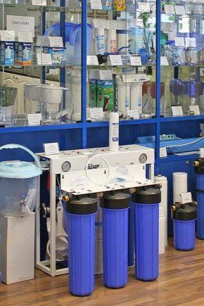 Фильтры для воды: виды и правила подбора