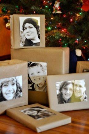 Как украсить подарок на Новый год?