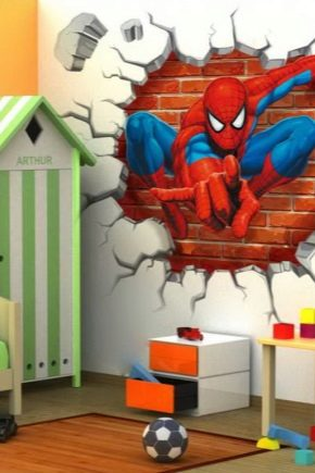 Как выбрать обои в детскую комнату для мальчиков?