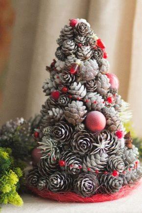 Новогодние украшения из шишек: особенности и секреты изготовления