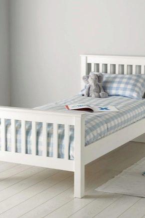 Обзор белых детских кроватей