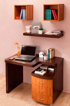 Письменные столы с ящиками для школьников