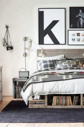 Подростковая кровать из массива дерева