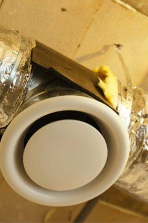 Разновидности и особенности использования вентиляционных диффузоров