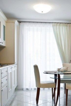 Советы по выбору штор в гостиную-кухню