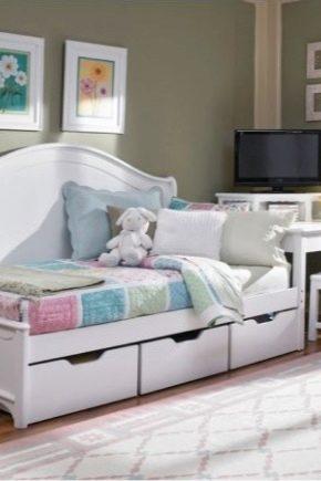 Выбираем детскую кровать с ящиками