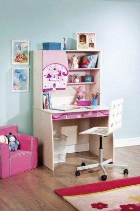 Выбираем письменный стол для девочки