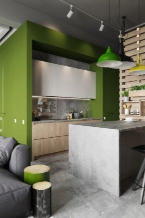 Кухня-гостиная площадью 15 кв. м: планировка и идеи оформления