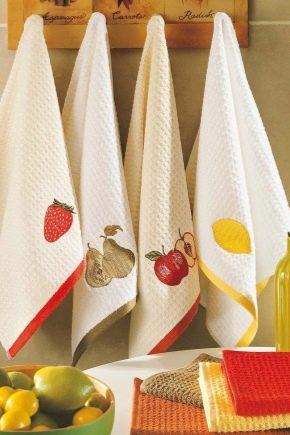 Кухонные полотенца – лицо хозяйки