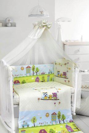 cd4c62b3c211 Постельное белье в кроватку для новорожденных: виды комплектов и критерии  выбора