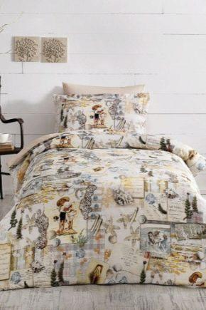 Размеры 1,5-спального постельного белья по стандартам разных стран