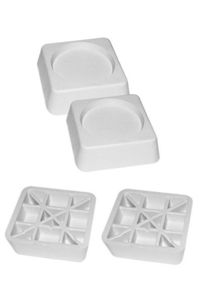Антивибрационные подставки для стиральной машины: виды, выбор и установка