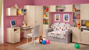 Виды детских диванов