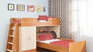 Двухъярусная кровать «Легенда» в интерьере детской