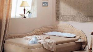 Двуспальные угловые кровати