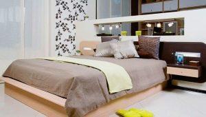 Кровати с тумбочками