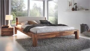 Особенности кроватей из массива дерева с подъемным механизмом