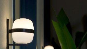 Уличные настенные светильники