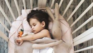 Вязаные детские пледы