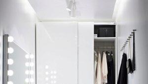 Белые шкафы Ikea в современном интерьере