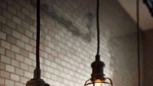Декоративные осветительные лампы