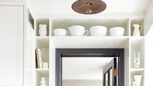 Двери для кухни: идеи в интерьере