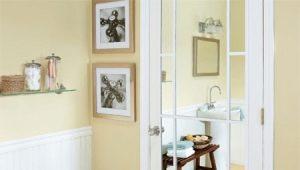 Межкомнатные двери с зеркалом: стиль и функциональность