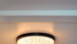 Модные потолочные светильники в прихожую