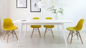 Пластиковые стулья для кухни: плюсы и минусы