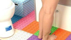 Резиновые коврики в ванную комнату