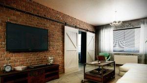Современные двери в стиле «лофт»