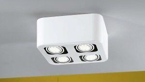 Светодиодные накладные светильники