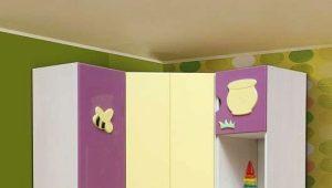 Угловые шкафы в детскую комнату