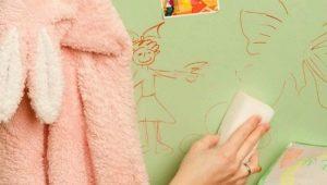 Чем можно оттереть с обоев следы от ручки: эффективные способы
