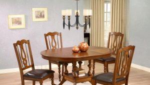 Деревянные стулья со спинкой – компактность и практичность в интерьере