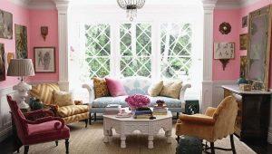 Дизайн комнат в различных модных стилях