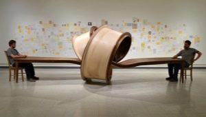 Дизайнерские столы: идеи в интерьере