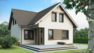 Двухэтажный дом размером 7x7 м: интересные варианты планировки