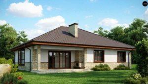 Идеи планировки загородного дома размера 10 на 10 м